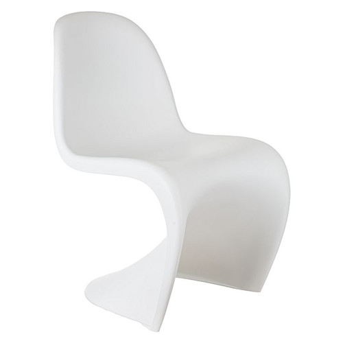 Replica Verner Panton Dining Chair, White
