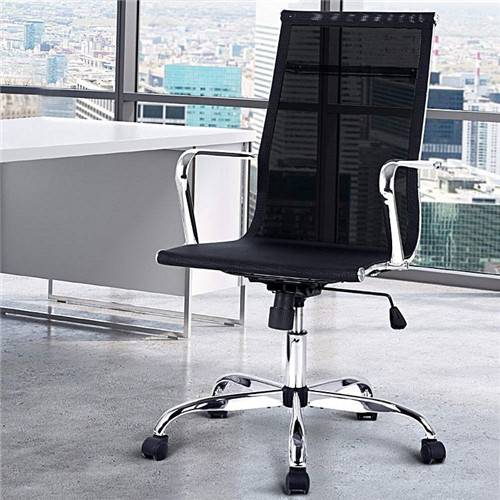 Eames Replica Mesh Executive Office Chair, Black