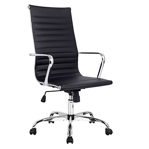 Replica Charles & Ray Eames PU Leather High Back Executive Office Chair