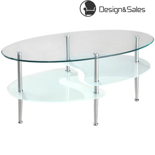 Wave Dual Oval Coffee Table