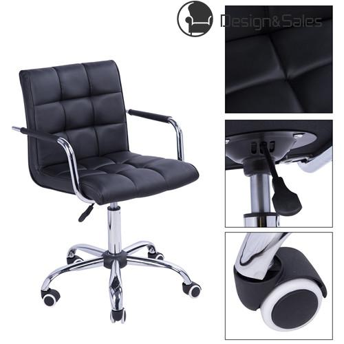 Bar Chairs Executive Swivel Chairs Home Office Computer Desk Chairs Task Chair Leather Pu
