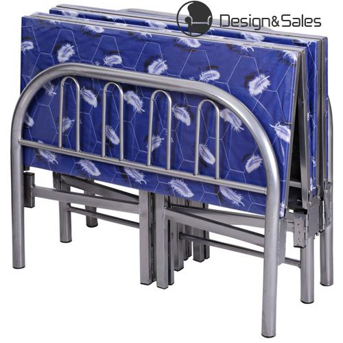 Wholesale Single Metal Iron Steel Folding Bed