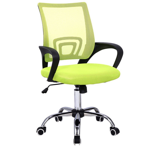 Modern Mesh Mid-Back Office Chair Computer Desk Task Ergonomic Swivel Green