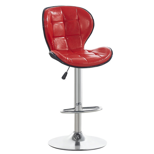 swivel bar stool with backrest