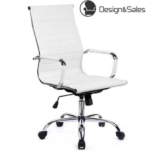 Admirable Office Chair Modern Ribbed Swivel Conference Chair Leather Download Free Architecture Designs Intelgarnamadebymaigaardcom