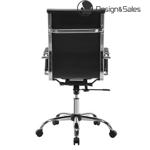 Black Modern Ergonomic PU Leather High Back Executive Computer Office Chair