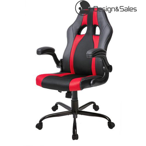 PU Leather Racing Style Gaming Chair Ergonomic Computer Desk Office Chair