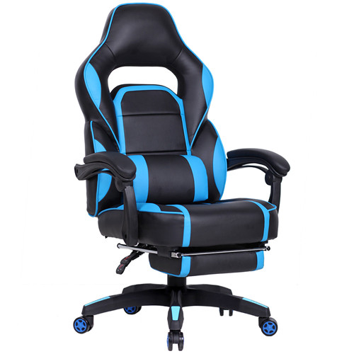 PU Executive Gaming Chair Recliner Napping Chair With Footrest