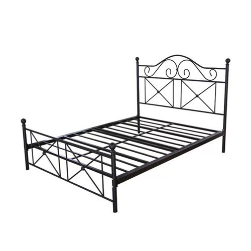 Hot sale good quality metal frame bed single bed