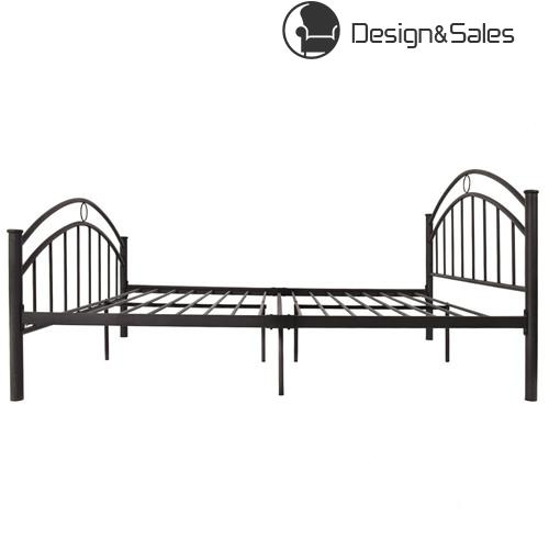 Queen Size Folding Steel Bed Frame 10 Legs