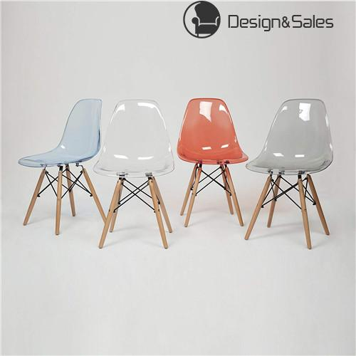 Eames Inspired Eiffel Retro Dsw Plastic Dining Office