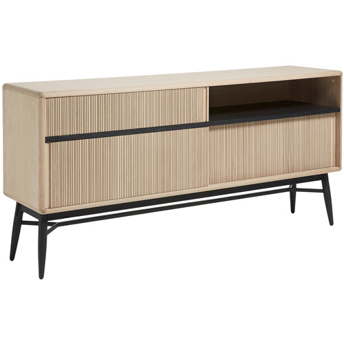 3 Door Oak Veneer Sideboard