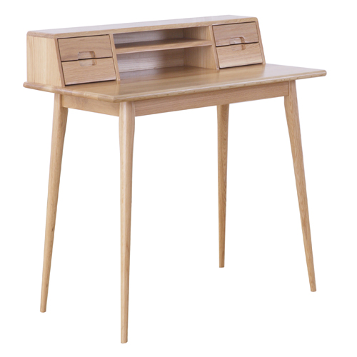 Oak Scandinavian Style Desk