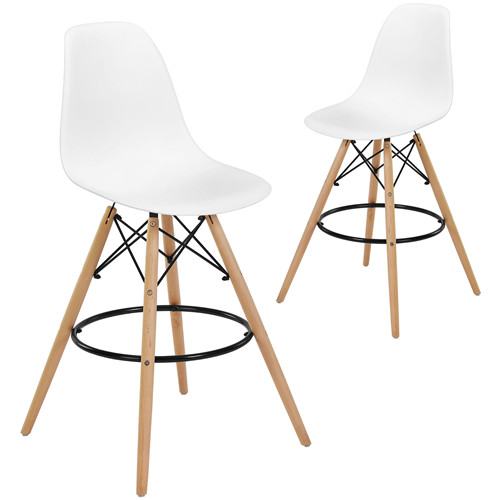 Eames Replica DSW High Back Barstools