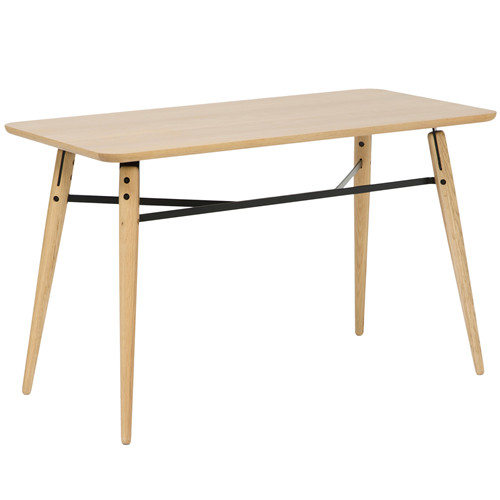 Oak & Metal Higdon Console Table