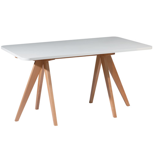 Beech Wood 160cm Dining Table