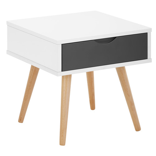 1 Drawer Scandinavian Bedside Table