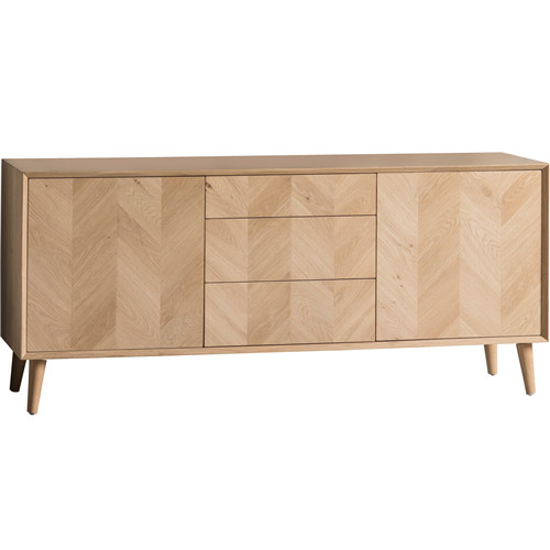 Solid European oak sideboard
