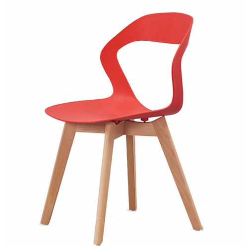 Dining Chairs Kitchen Chair Modern Simplicity Curved backrest Large Chair Solid Wood Chair Legs Strong