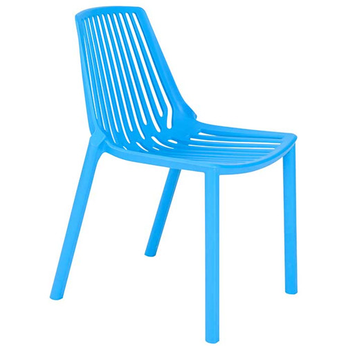 HIGDON Stacking Chair Blue