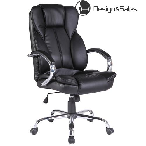 PU Leather Office Chair High Back Executive Task Ergonomic Computer Desk Black