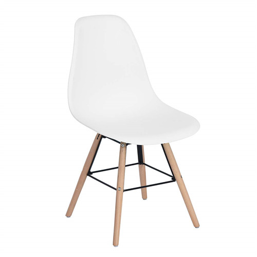 DSW Style plastic dining chairs