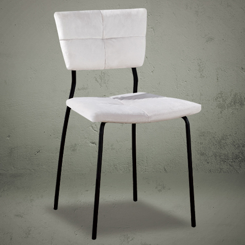 Dining chairs small white simple design