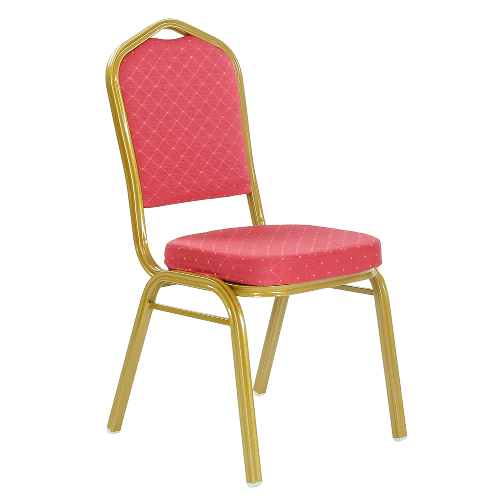 Banquet hall chairs red fabric china cheap wholesale