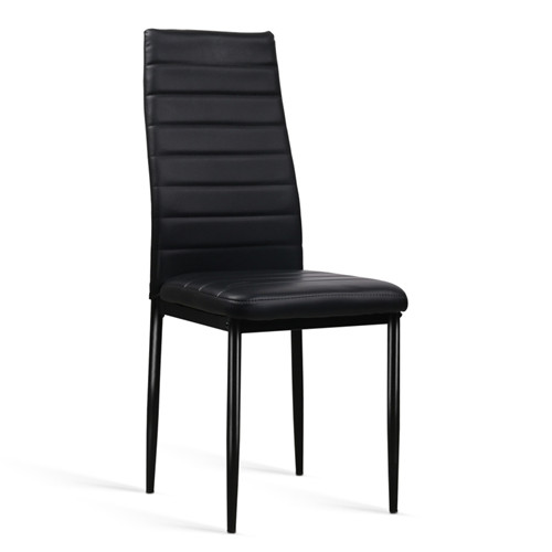 Dining chairs faux leather high back contemporary made in china