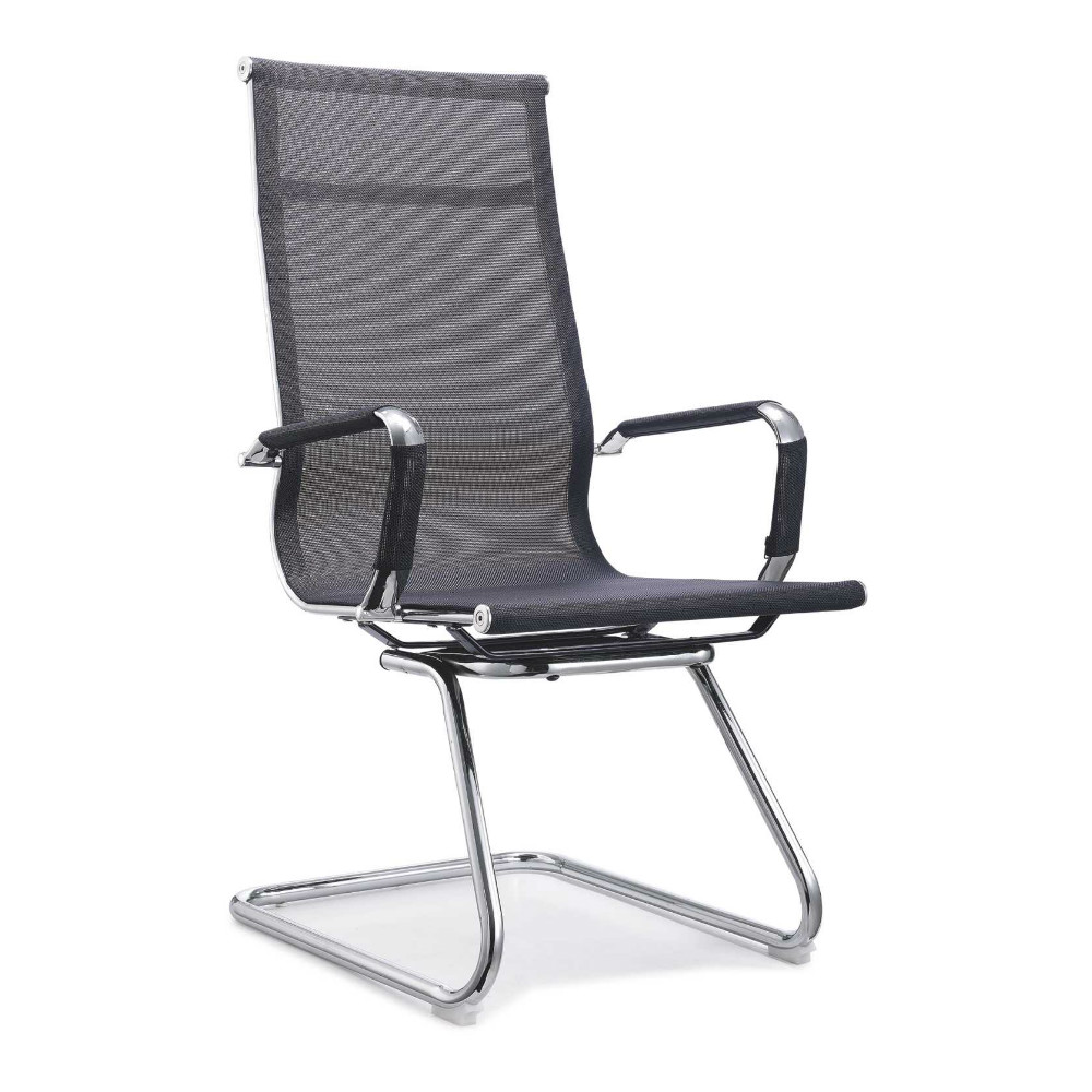 high back net conference chair without wheels china design