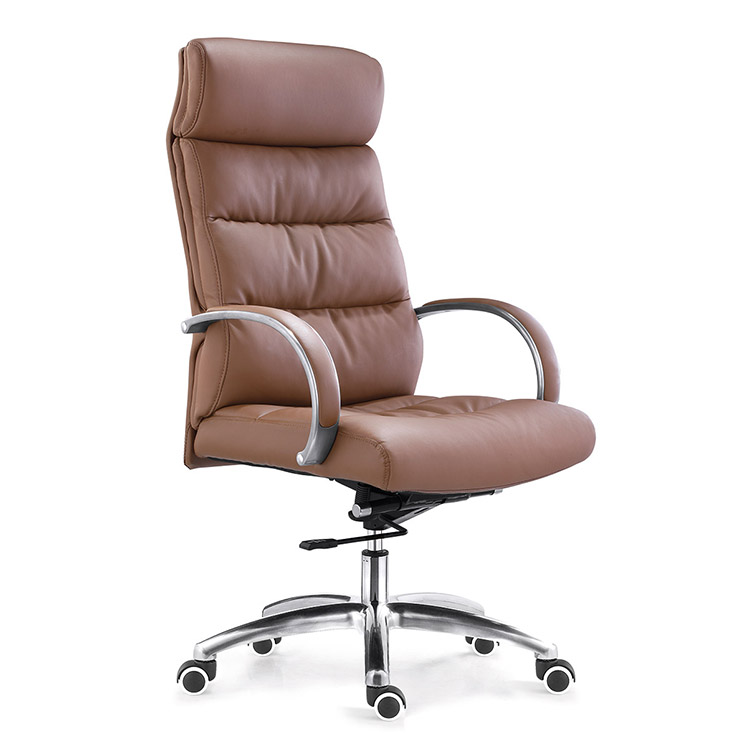 china design visitor reception chair high back bonded leather