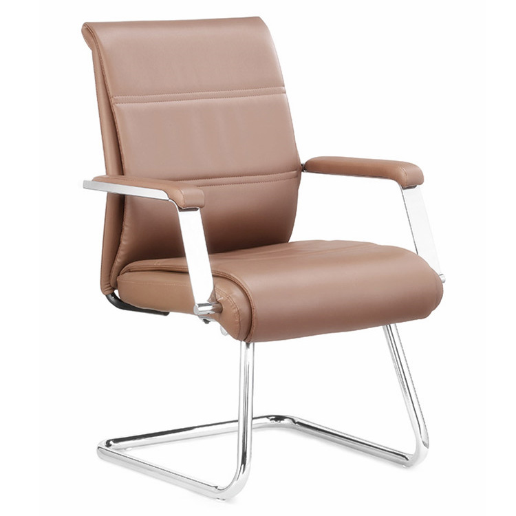 Comfortable Leather Conference Hall Meeting Chair