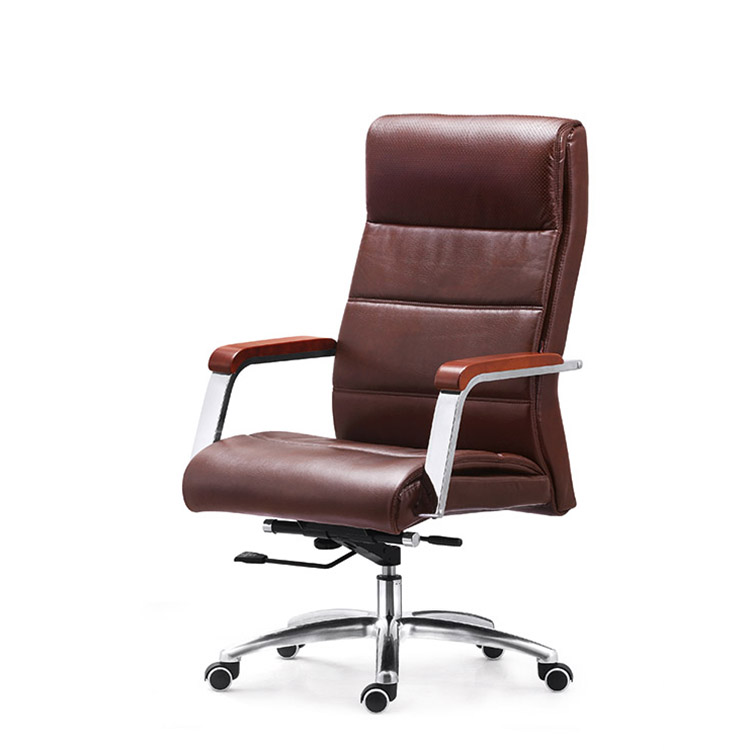 PU Leather High Quality Boss and manager Office Chair with Arms