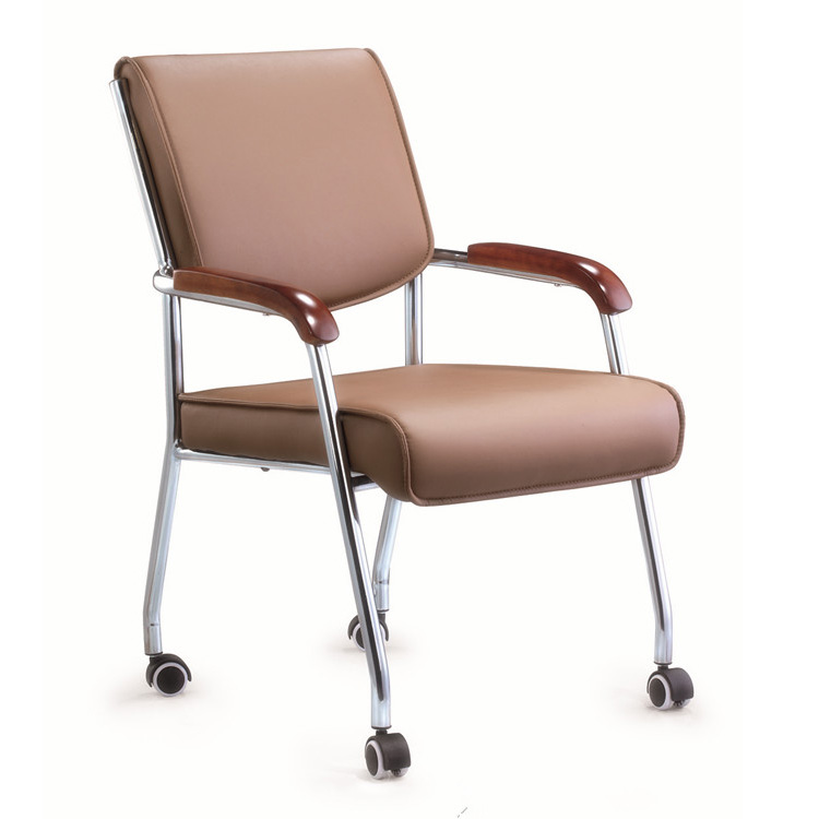 Armrest Visitor Chair with wheels