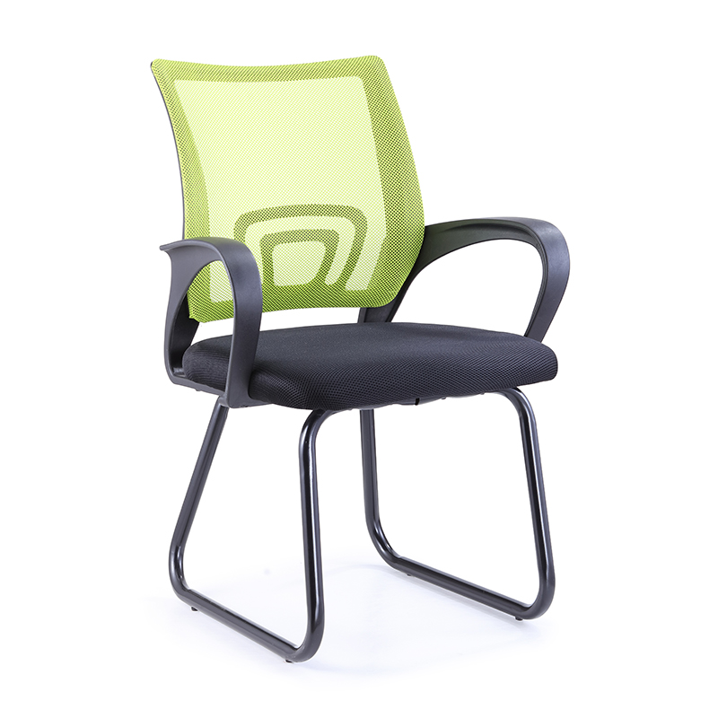 Morden design low price training chair conference room ergonomic mesh office chair green