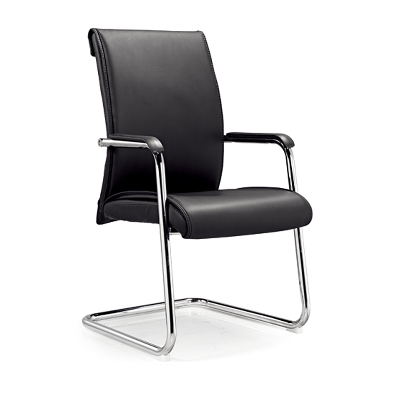 conference chair bonded leather high back made in china