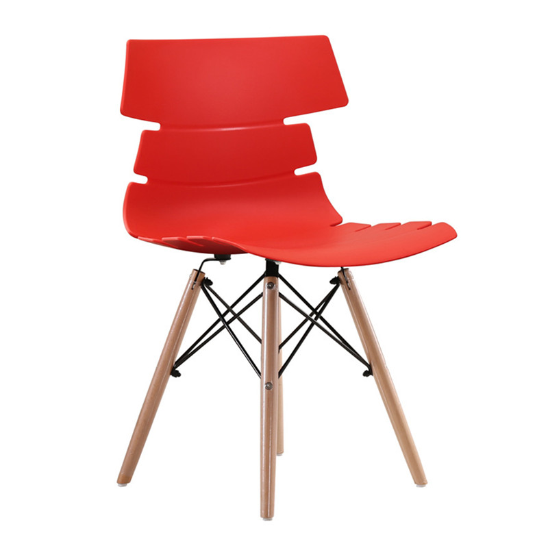 scandinavian dining chair red china fashion design