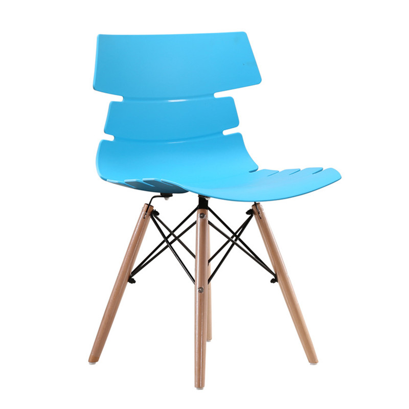 scandinavian dining chair blue china fashion design