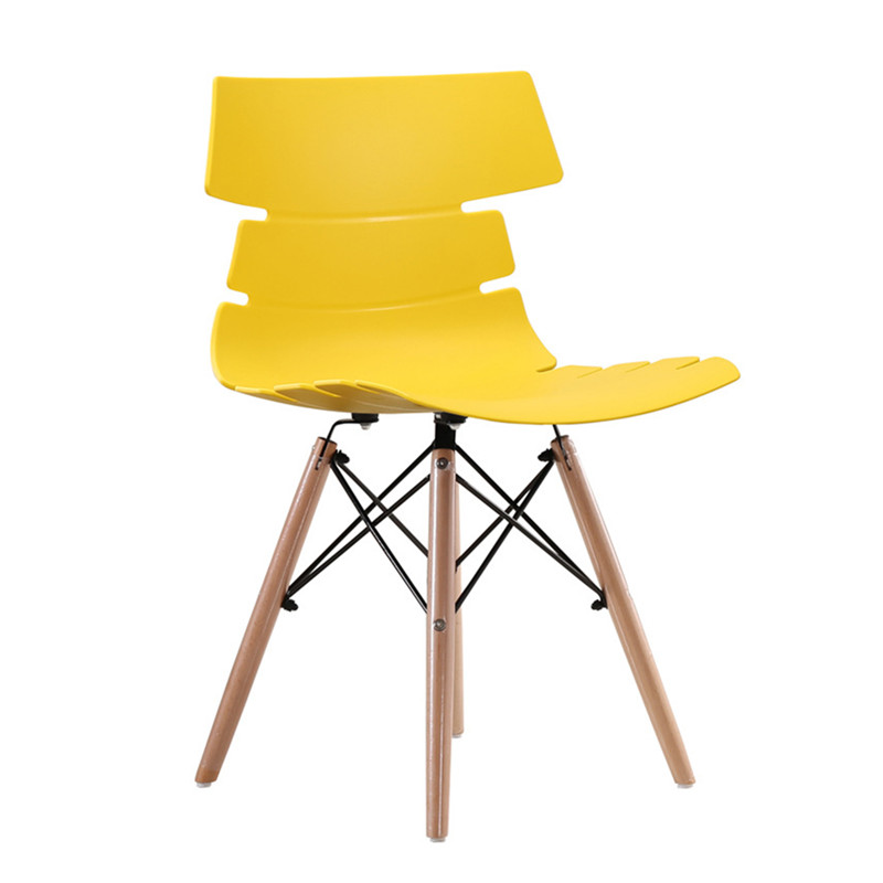 scandinavian dining chair yellow china fashion design